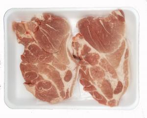 Hannaford All Natural Boneless Pork Blade Steaks