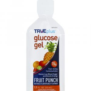 True Plus Glucose Gel Fruit Punch Flavored