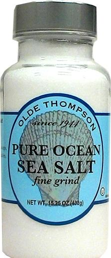 Olde Thompson Pure Ocean Sea Salt