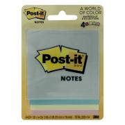 "Post-it 3"" x 3"" Notes Assorted Colors"