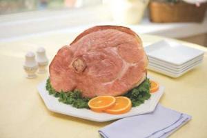 Hannaford All Natural Half Ham Shank