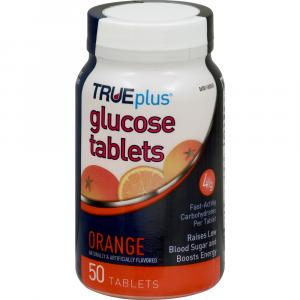 True Plus Glucose Orange Tablets