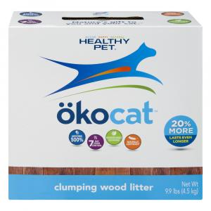 Okocat Clumping Wood Litter