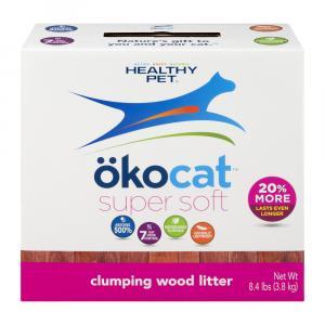 Okocat Super Soft Clumping Wood Litter