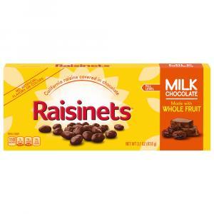 Raisinets Milk Chocolate Theatre Box