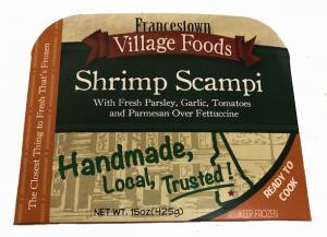Francestown Village Shrimp Scampi