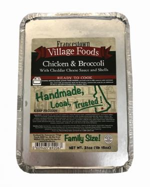 Francestown Village Chicken and Broccoli
