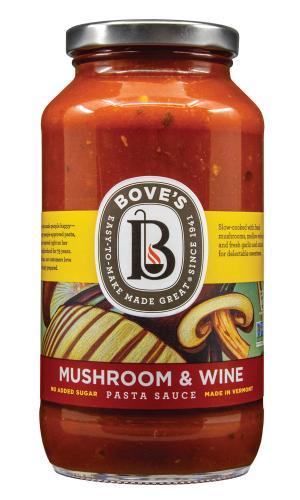 Bove's Mushroom & Wine Pasta Sauce
