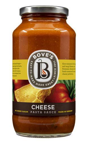 Bove's Three Cheese & Tomato Pasta Sauce
