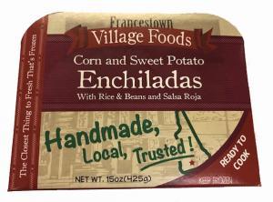 Francestown Village Sweet Potato Enchilada