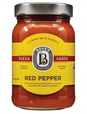 Bove's Sweet Red Pepper Pizza Sauce