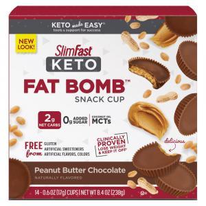 SlimFast KETO Fat Bomb Peanut Butter Cups