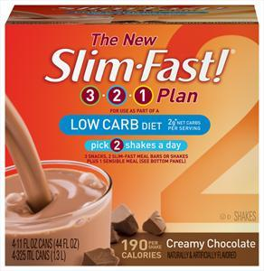 Slim-fast Low Calorie Creamy Chocolate