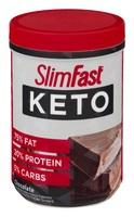 Slim Fast Keto Meal Replacement Powder Fudge Brownie Batter
