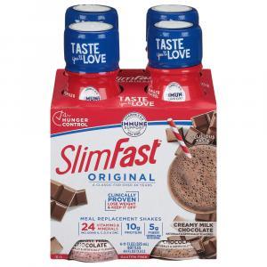 SlimFast Creamy Milk Chocolate Shakes