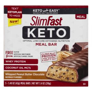 SlimFast KETO Whipped Peanut Butter Bar