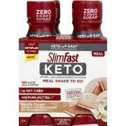 SlimFast Keto Meal Shake to Go Vanilla Cream