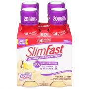 SlimFast Advanced Ready To Drink Vanilla Cream