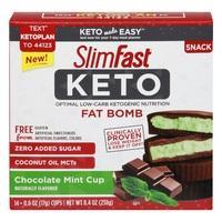 Slim Fast Keto Mint Cups Fat Bombs