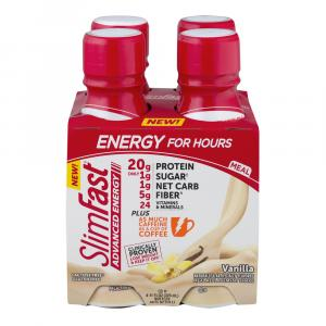 SlimFast Advanced Energy Vanilla RTD Shake