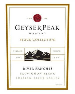 Geyser Peak Block Collection Sauv Blanc