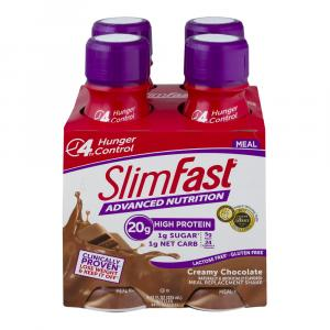 Slimfast Advanced Ready To Drink Chocolate Cream Shake