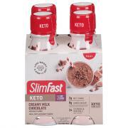 SlimFast Keto Meal Shake to Go Creamy Milk Chocolate