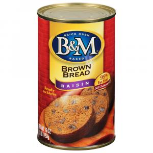 B&M Raisin Brown Bread