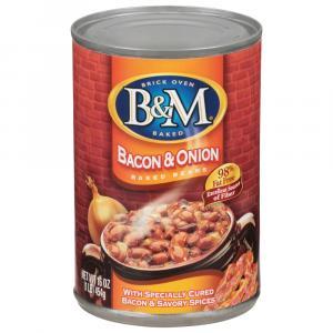 B&M Bacon & Onion Beans