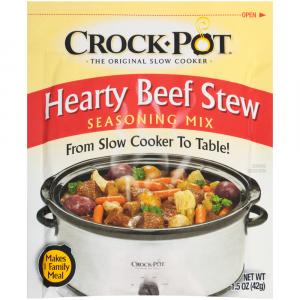 Crock Pot Hearty Beef Stew Seasoning Mix