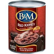 B&M Red Kidney Baked Beans