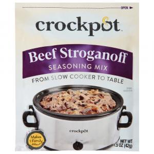 Crock Pot Beef Stroganoff Seasoning Mix