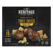 Heritage Three Cheese Meatballs