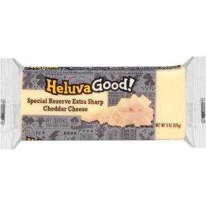 Heluva Good Special Reserve Extra Sharp White Cheddar Cheese