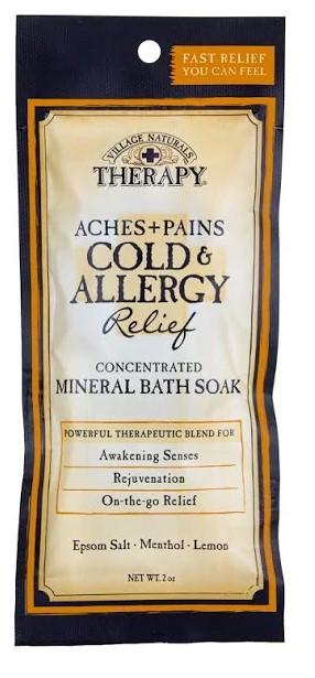 Village Naturals Therapy Aches+Pains Cold & Allergy Mineral