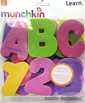 Munchkin Letters & Numbers Girl