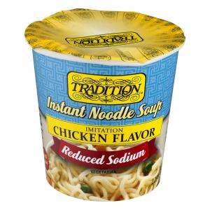 Tradition Instant Reduced Sodium Chicken Soup Cup