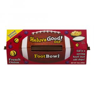 Heluva Good Footbowl French Onion Dip