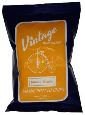 Vintage Maine Kitchen Maine Maple Potato Chips Salty Sweet