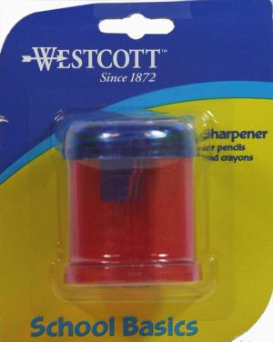 Westcott Manual Pencil Sharpener