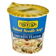Tradition Instant Noodle Soup Imitation Chicken Vegetarian