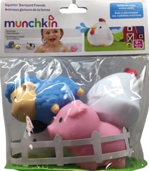 Munchkin Squirtin' Barnyard Friends
