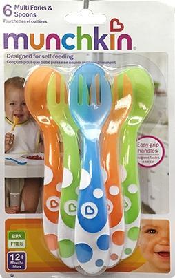 Munchkin Multi Fork & Spoons