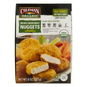 Coleman Organic Breaded Chicken Breast Nuggets