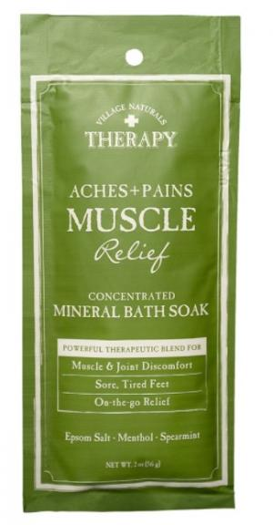 Village Naturals Therapy Aches+Pains Muscle Relief Mineral