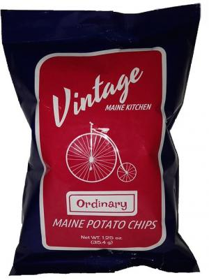 Vintage Maine Kitchen Ordinary Potato Chips Maine Sea Salt