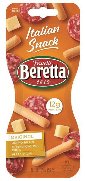 Fratelli Beretta Original Salami Provolone Bread Sticks