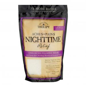 Village Naturals Therapy Nighttime Relief Foaming Soak