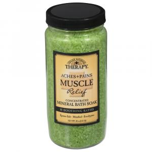 Village Naturals Aches & Pain Therapy Mineral Bath Soak