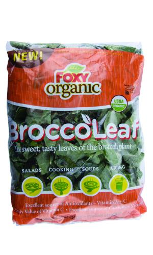 Foxy Organic BroccoLeaf